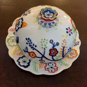 Anthropologie butter dish